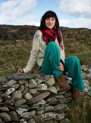 'The book's not a polemic, it's a novel' … Baume at home in West Cork.
