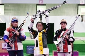 Yang Qian wins gold for China