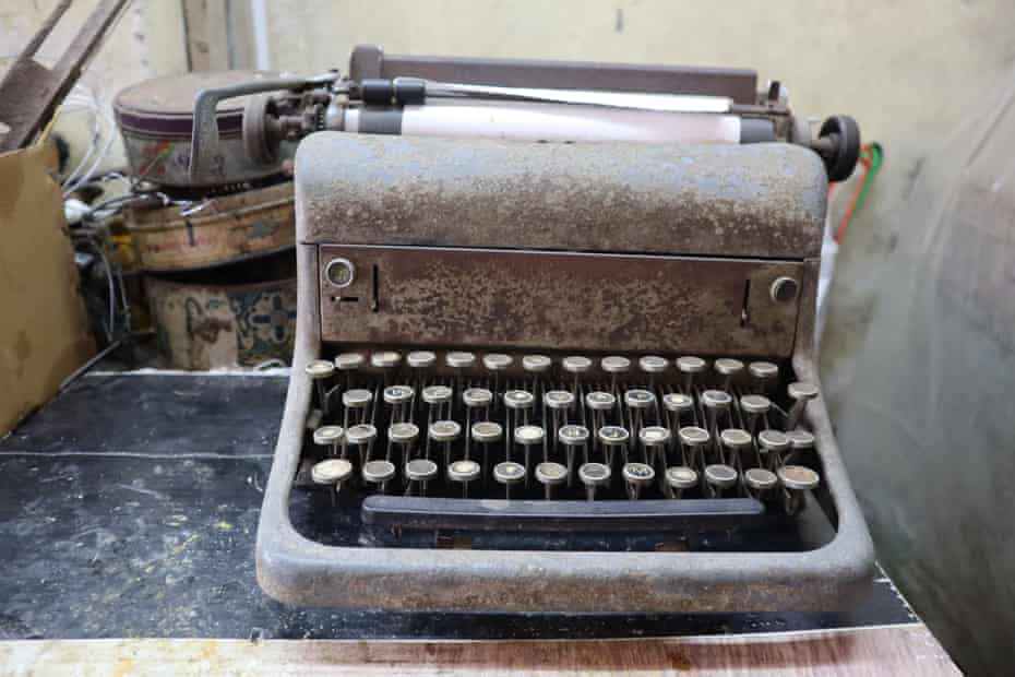 The story of Louis Abreu, a typewriter