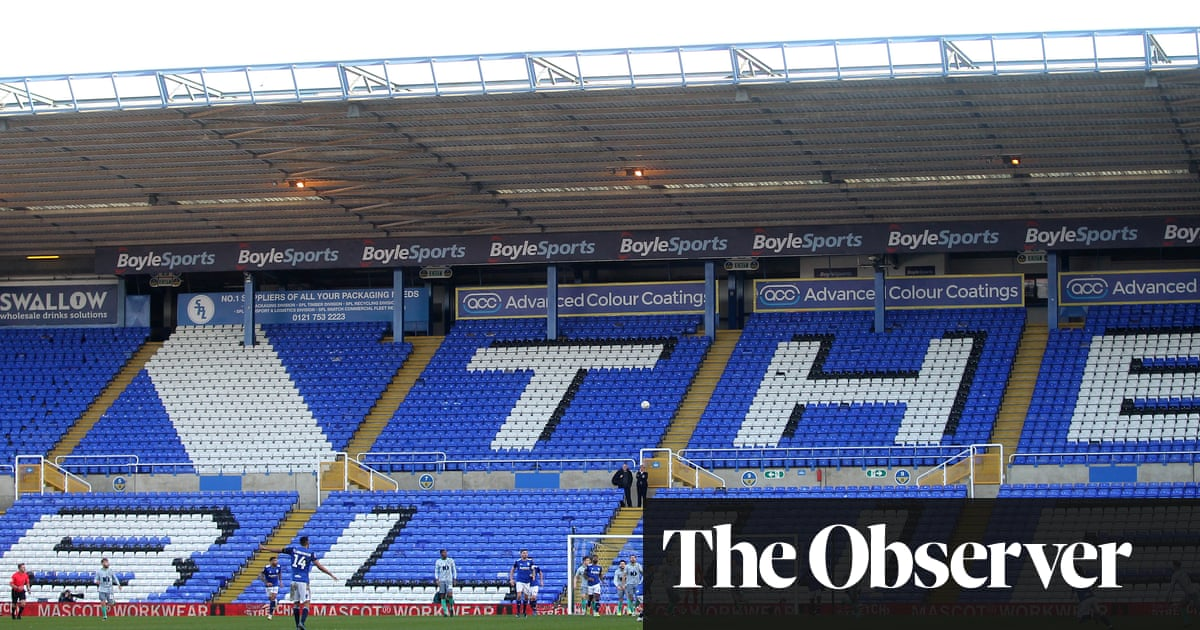 St Andrew's empty stands a sign of FA Cup's fading, but not forgotten, magic | Jonathan Liew