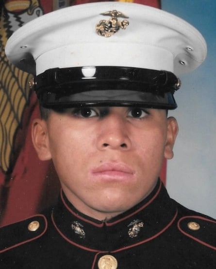 Jose Segovia Benitez enlisted in the US Marine Corps one week after graduating high school.