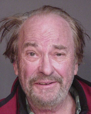Rip Torn had his demons. Here he is in a New York state police booking photo on 4 December 2006 after he was involved in a two-car accident and refused to take a breathalyser test for alcohol in North Salem. A jury acquitted Torn of the charge. In 2010 he was arrested after breaking into a Litchfield Bancorp branch office in Connecticut and received a suspended jail sentence.