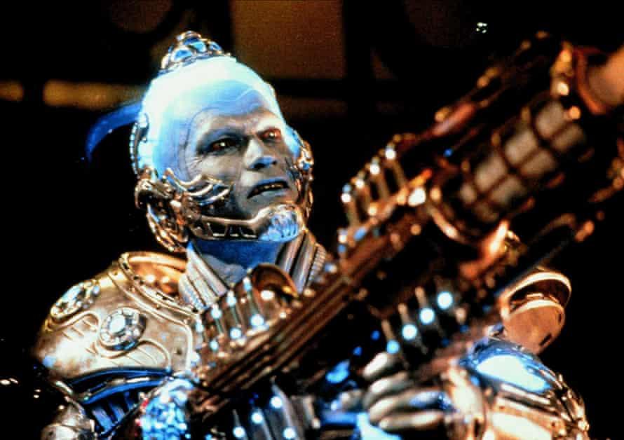 Arnold Schwartzenegger as Mr Freeze