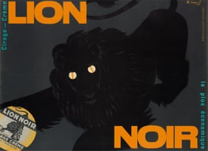 Lion Noir was a brand of shoe polish. Estimate $30,000-40,000.