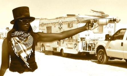 Photo of Tyra Fennell (-Fifi Pickford-) supplied by Fennell Burning Man 2015