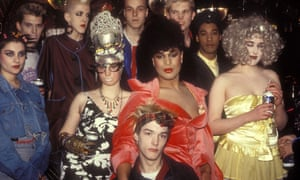 Clubbers at Leigh Bowery's club Taboo in 1986.