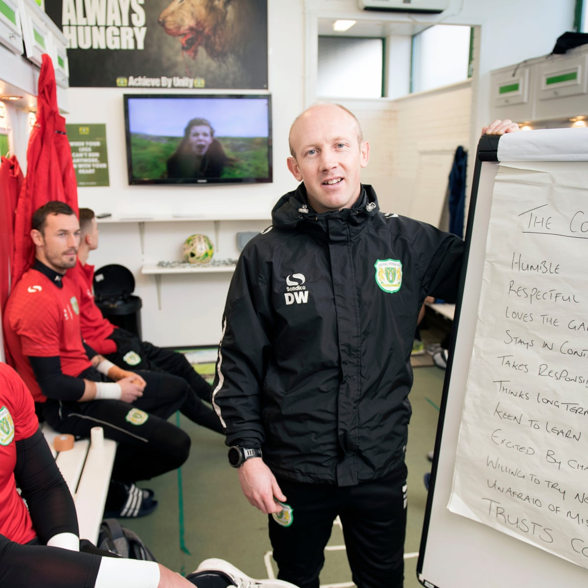 I M Obsessed Yeovil Manager Darren Way S Big Plans For Manchester United Ben Fisher Football The Guardian