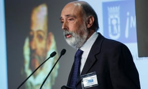 Francisco Etxeberria speaks about the search for the remains of Miguel de Cervantes.