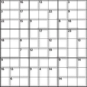 Killer sudoku 671
