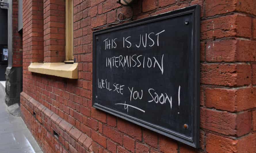 Bar sign in Melbourne