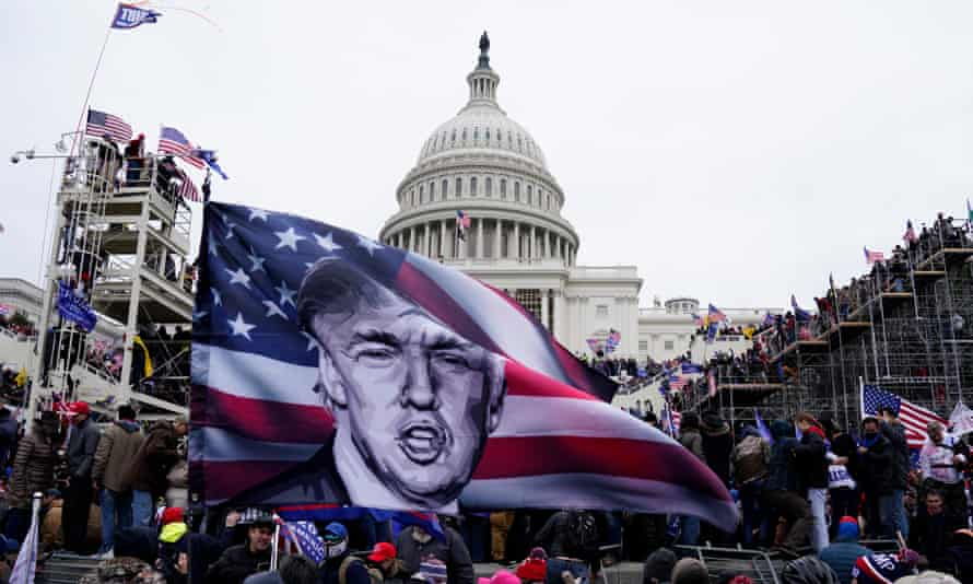 'On Wednesday the president incited a mob to descend on Congress with a clear intent to stymie the vote to certify Joe Biden's election as president of the United States.'