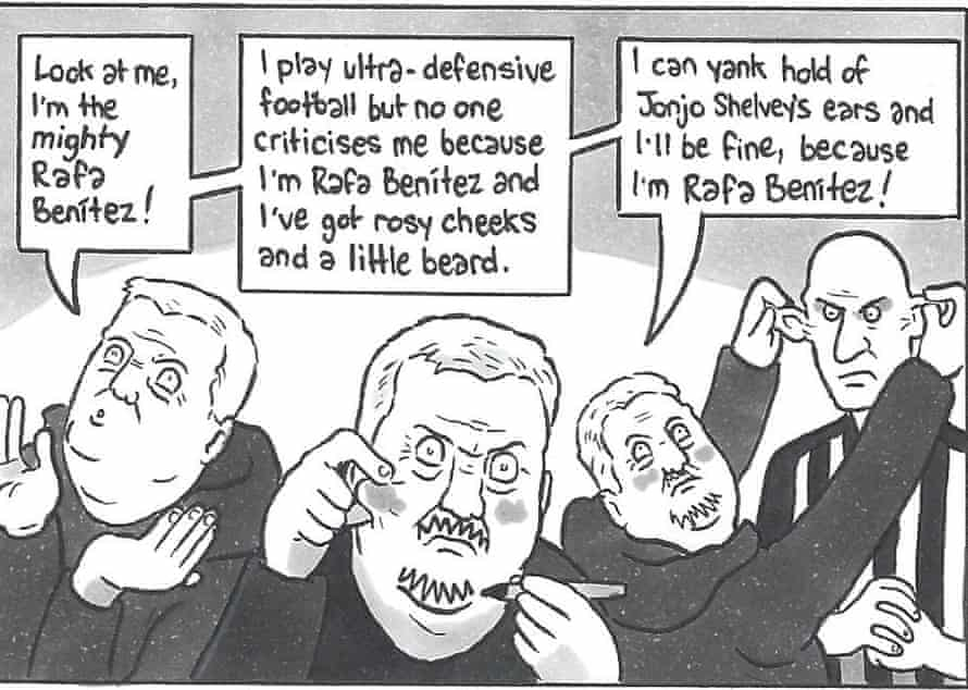 In which Steve Bruce goes the full Frank Grimes.