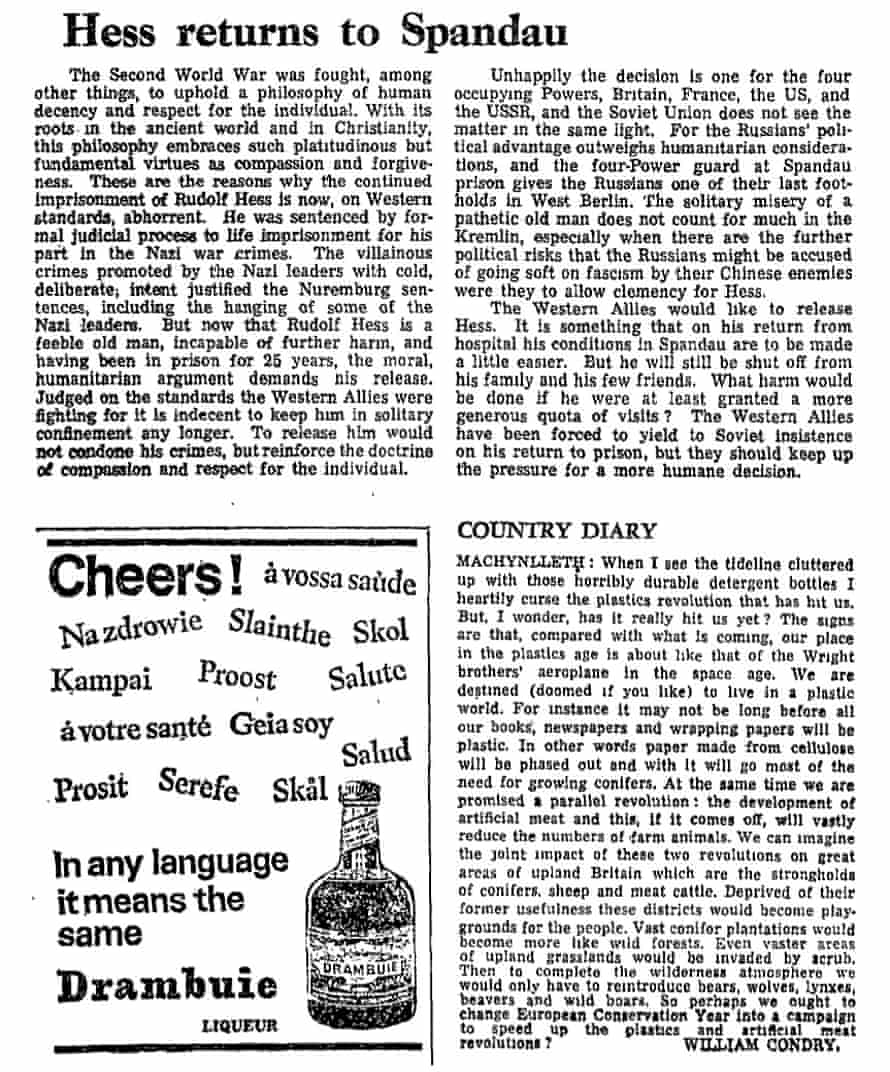 The Guardian, 14 March 1970.