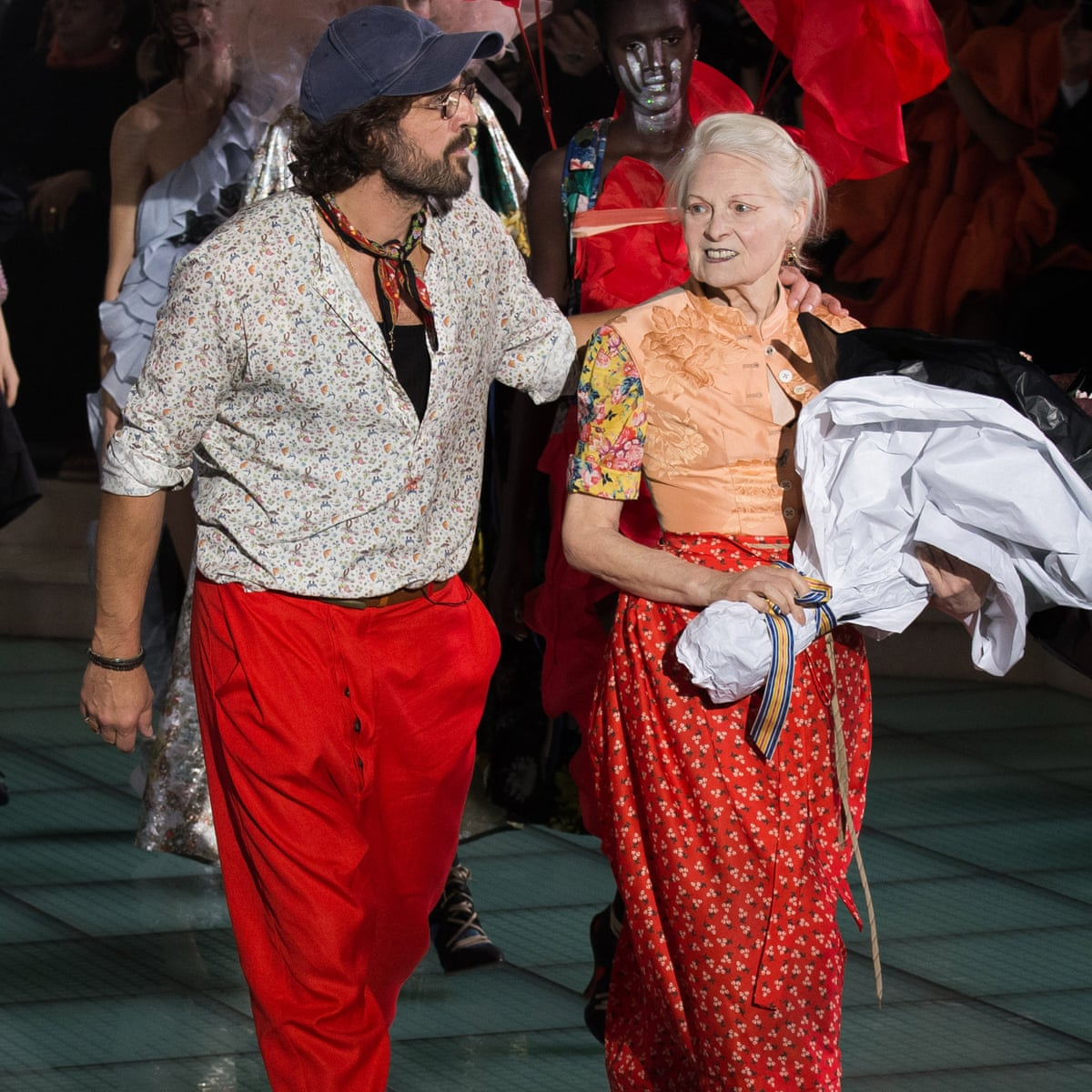Vivienne Westwood On Her Secret To Staying Young Bathe Once A Week Vivienne Westwood The Guardian