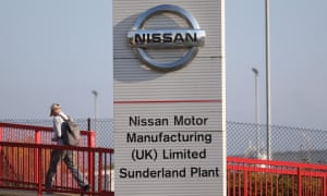 Nissan plant in Sunderland