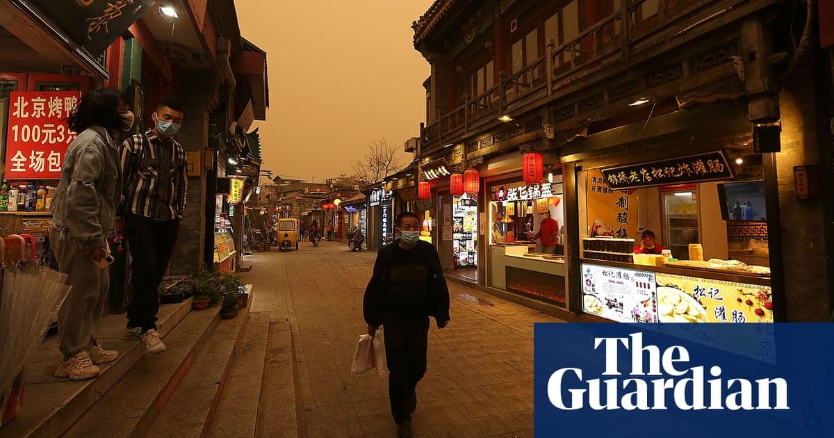 Beijing hit by third sandstorm in five weeks