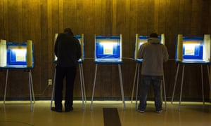 A court said state assembly voting districts drawn up by Republicans in 2011, after they took full control of state government, are unconstitutional.