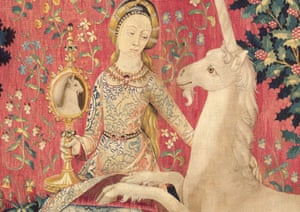 To get to Australia, the tapestries each flew in a separate plane – in case of a crash