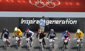 Women's BMX racing at the 2012 Olympics