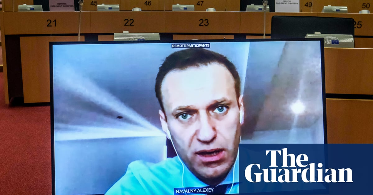 Alexei Navalny calls for EU sanctions on Russian oligarchs