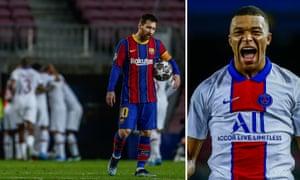 Kylian Mbappé scores stunning hat-trick at the Camp Nou