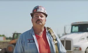 Democrat Randy Bryce, who is running in Wisconsin, has been described as 'genetically engineered from a Bruce Springsteen song'.