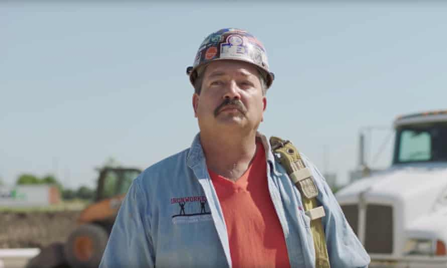 Randy Bryce, a former ironworker, is running for the Wisconsin seat currently held by Paul Ryan.