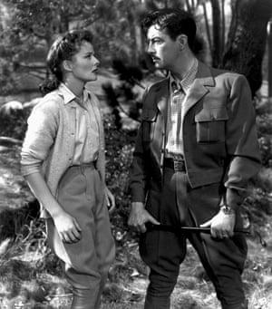 Hepburn and Robert Taylor in Undercurrent