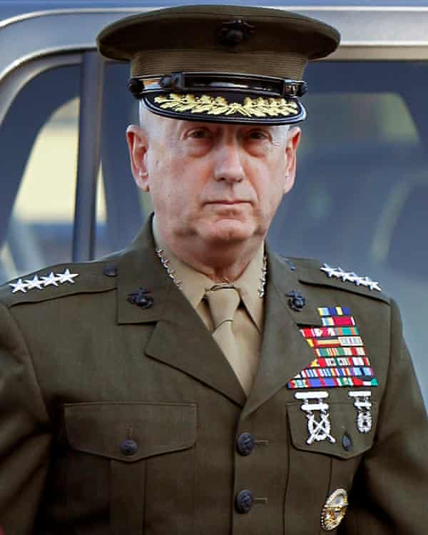 James Mattis resigned as the US defence secretary with a pointed dig at Trump's troop withdrawals.