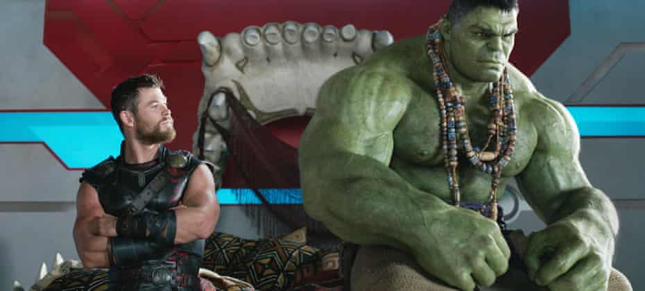 Trouble at the top … Thor: Ragnarok