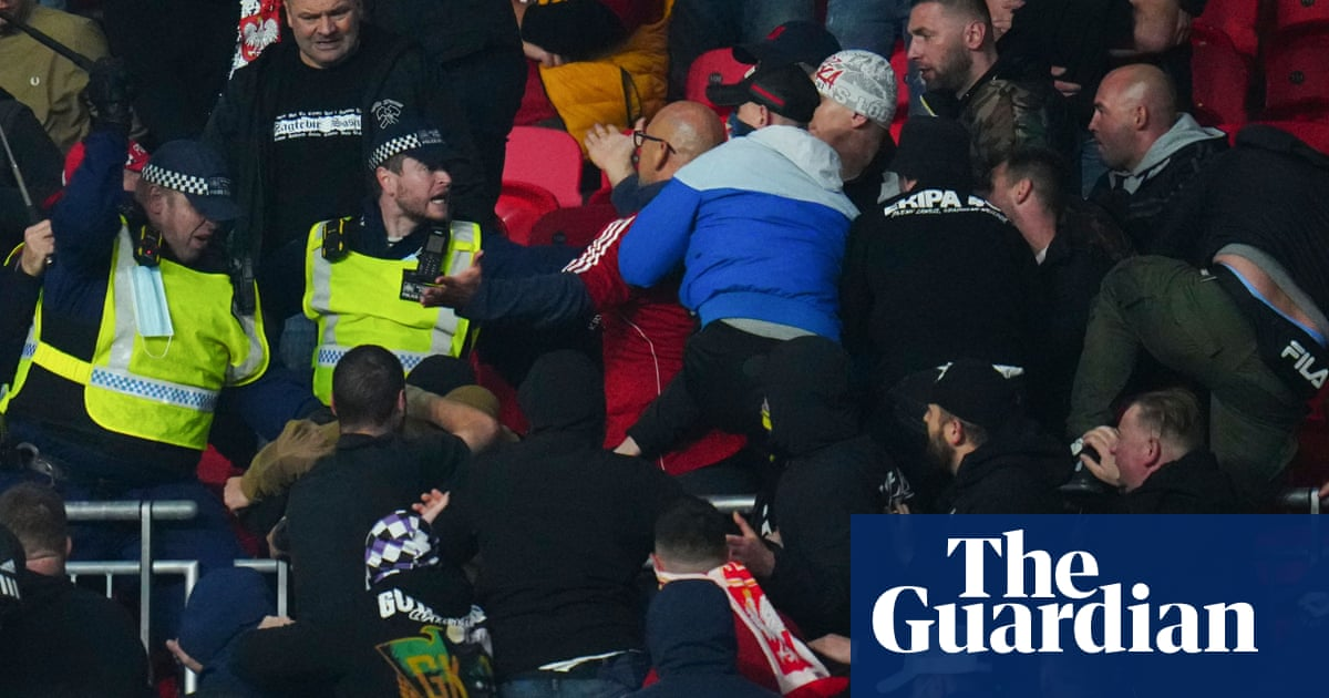 Share your experiences of fans fighting at Wembley during England v Hungary