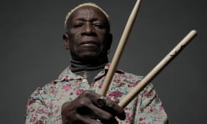 Invoking jazz legends … Tony Allen.