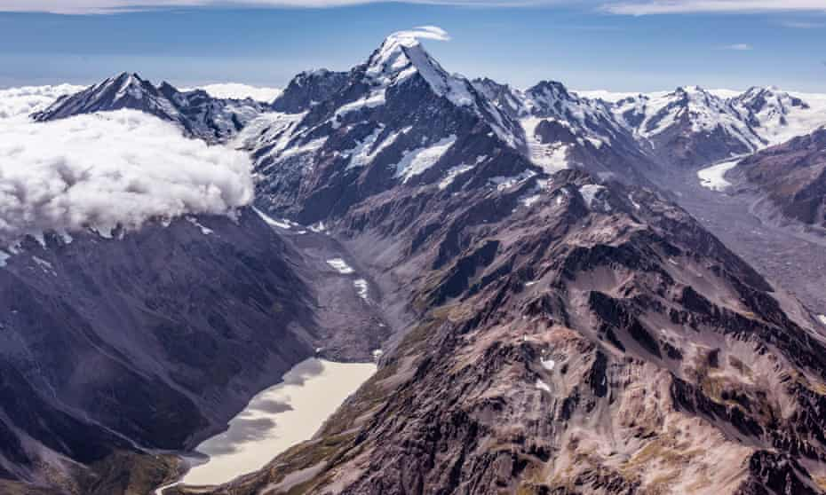 Mt Cook on New Zealand's south island