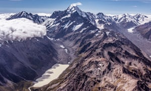 Scientists have been closely watching for changes to the glacier at Mt Cook. New Zealand recorded its warmest winter on record in 2020.