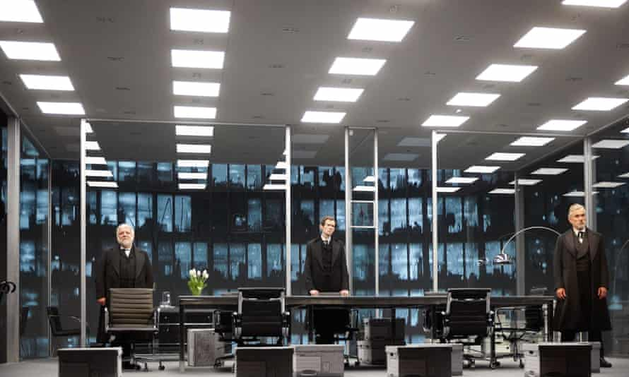 'A magical music box called America' … The Lehman Trilogy, with set designs by Es Devlin