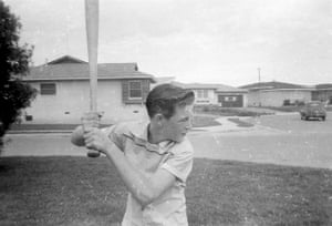 In Hawthorne, California, in the 1950s: 'I couldn't hit a curve.'