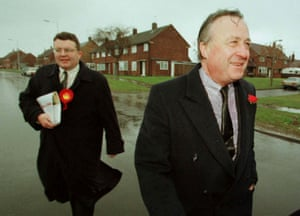 Watson with Labour candidate