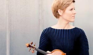 Wonderfully accomplished … Isabelle Faust.