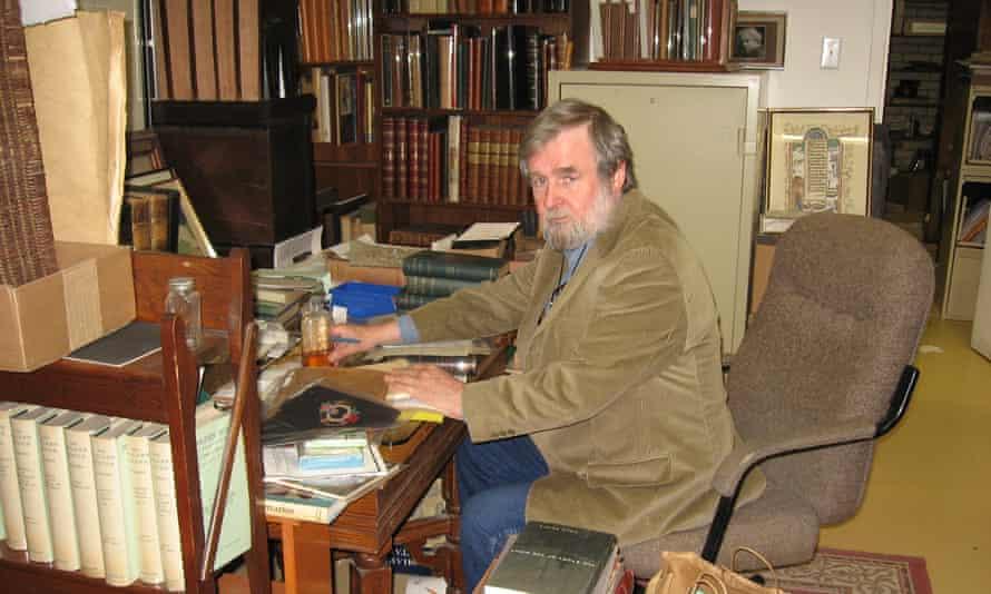 Literary treasurehunter … David Mason