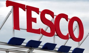 Tesco reported a rise in sales for a tenth quarter