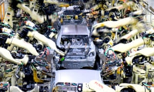 The IPPR suggests factory workers are likely to be among those losing their jobs or facing fewer hours due to automation.
