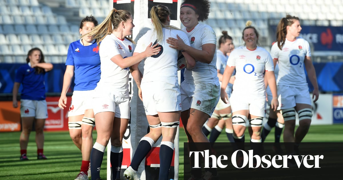 England Women pull clear in France with strong second-half display