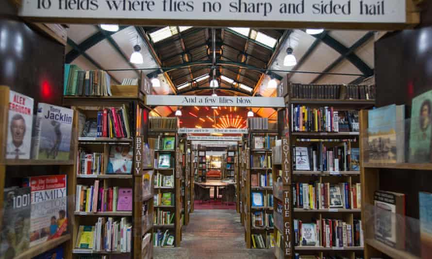 Barter books in Alnwick,