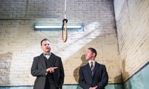 David Morrissey and Reece Shearsmith in Hangmen by Martin McDonagh.
