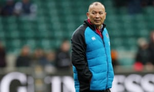 Eddie Jones has worked under four different RFU chief executives since taking the England job in 2015
