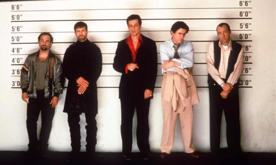 Kevin Pollak, Stephen Baldwin, Benicio Del Toro, Gabriel Byrne, Kevin Spacey.