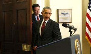 FBI director James Comey is an Obama appointee.