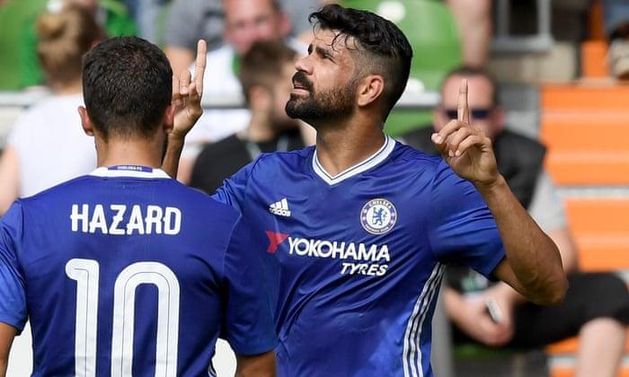 Rumores sobre transferências de futebol: o Chelsea oferece Diego Costa ao Napoli e ao Inter?