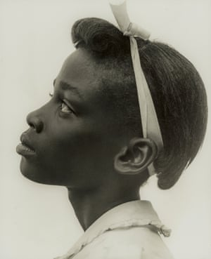 Young girl in profile Consuelo Kanaga (American, 1894–1978) 1948 Photograph, gelatin silver print *The Howard Greenberg Collection—Museum purchase with funds donated by the Phillip Leonian and Edith Rosenbaum Leonian Charitable Trust *Courtesy, Museum of Fine Arts, Boston