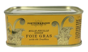 A tin of Fortnum & Mason foie gras